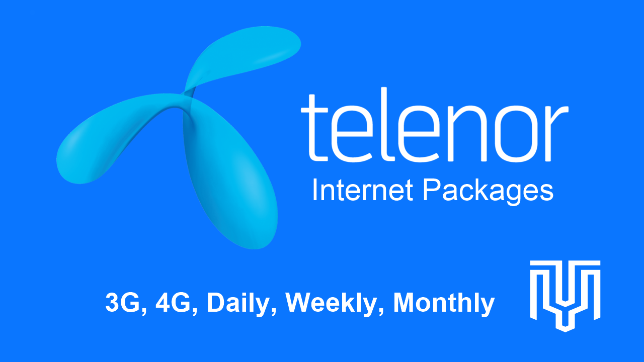 Telenor Internet Packages 2020: 3G, 4G, Daily, Weekly, And ...